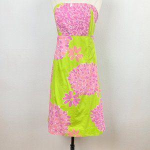 Vintage Lilly Pulitzer Sabrina Pink & Green Dress